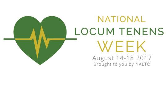Celebrating National Locum Tenens Week