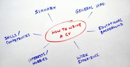 What to Include in Your CV