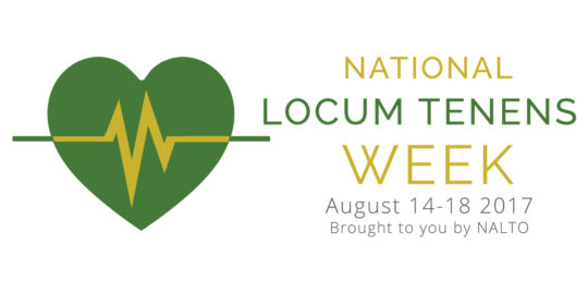 National Locum Tenens Week – Press Release