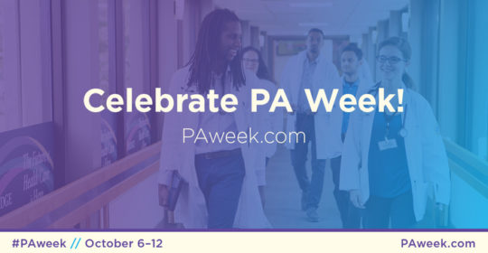 Happy National PA Week!