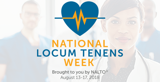Mint Recognizes National Locum Tenens Week