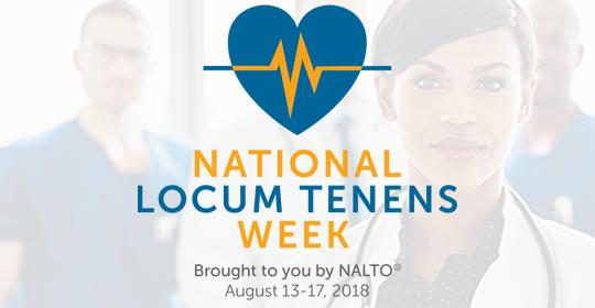 Mint Recognizes National Locum Tenens Week