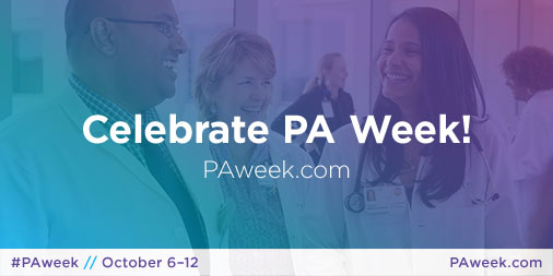 National PA Week 2018
