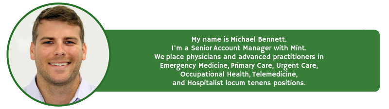 contact mike bennett for locum tenens staffing