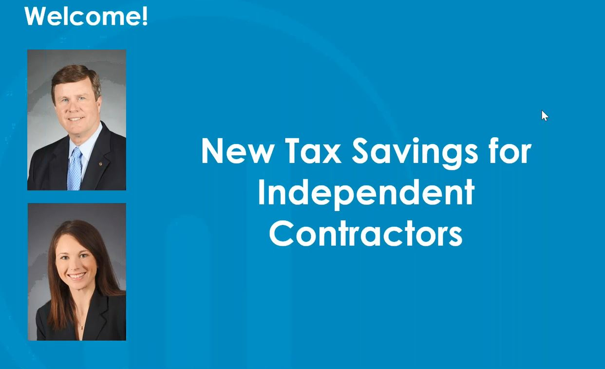 Tax Savings for Physicians Working as Independent Contractors